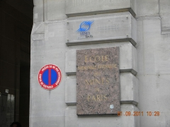 Ancien hôtel de Vendôme, actuellement Ecole Nationale Supérieure des Mines - English: Ecole Nationale Superior des Mines de Paris, 60 Boulevard Saint-Michel, Paris (2)
