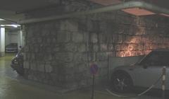 Enceinte de Philippe-Auguste - English: Paris, VIth arrondissement, wall of Philippe-Auguste in a car park.