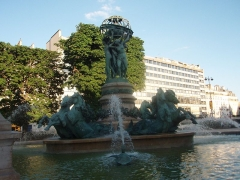 Fontaine de Carpeaux -  Fontaine de l'Observatoire