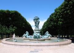 Fontaine de Carpeaux -  Fontaine de l'Observatoire (1873) by Gabriel Davioud, Paris