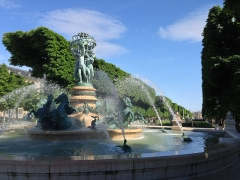 Fontaine de Carpeaux - English: Fountain at the Garden of Luxembourg