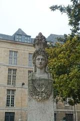 Fontaine du Marché-aux-Carmes -  Square Gabriel Pierné @ Paris