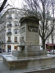 Fontaine du Marché-Saint-Germain -  Fontana di rue bonaparte