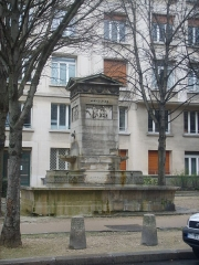 Fontaine du Marché-Saint-Germain -  Fontana_rue_bonaparte