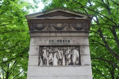Fontaine du Marché-Saint-Germain -  Fountain @ Promenade de l'allée du Séminaire - Jean-Jacques-Olier @ Paris
