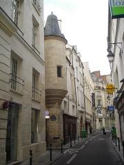 Hôtel des Abbés de Fécamp ou Hôtel de Fécamp -  5 rue Hautefeuille in Paris.