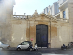 Hôtel de Brancas - English: Hôtel de Brancas, 6 rue de Tournon (Paris, VI)