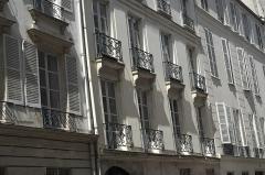 Hôtel Charles-Testre - Deutsch: Hôtel Charles-Testu, Rue de Condé n° 26, im 6. Arrondissement in Paris (Île-de-France/Frankreich)