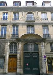 Hôtel de Montmorency-Bours - Rue du Cherche-Midi (n°85: petit hôtel de Montmorency, musée Hébert) - Paris VI