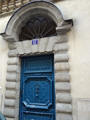 Immeuble - Français:   Immeuble 17 rue Cassette, porte