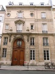 Hôtel de Marsilly -  Hotel de Marsilly (1738) by Claude Bonnot, 18 rue du Cherche-Midi, Paris