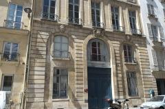 Immeuble - Deutsch: Rue de Condé n° 30 im 6. Arrondissement in  Paris (Île-de-France/Frankreich)