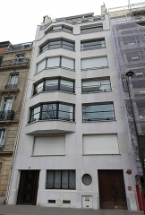 Immeuble - Français:   Immeuble, 1 rue Guynemer, Paris.