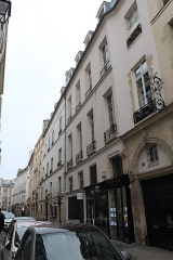 Immeuble - Français:   Immeuble, 11 rue Jacob, Paris.