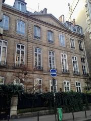 Maison - English: Facade of the hôtel de Dreux-Brézé on the boulevard Raspail (former garden facade)