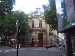 Immeuble du Cercle de la Librairie - Français:   Immeuble au 117 boulevard Saint-Germain (MH), total