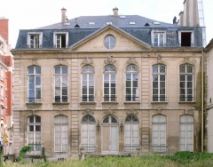 Ancien hôtel de Choiseul-Praslin, devenu immeuble de la Caisse Nationale d'Epargne, puis Musée Postal -  Hotel du Choiseul-Praslin (1732) by Sulpice Gaubier, 111 rue de Sevres, Paris