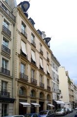 Immeuble - English: Seine street (n°41) - Paris