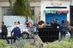 Immeuble -  Movie shoot @ Saint-Germain-des-Près @ Paris