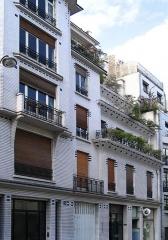 Immeuble -  Building by Henri Sauvage - 26 rue Vavin - Paris France Author: P.Charpiat 2007