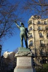 Monument du Maréchal Ney -  Statue of Michel Ney by François Rude, Paris.