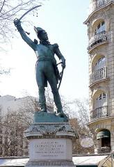 Monument du Maréchal Ney - English: Maréchal Ney - Paris