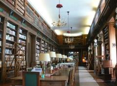 Palais de l'Institut (ancien collège des Quatre-Nations) - English: Readingroom of the bibliothèque de l'Institut de France