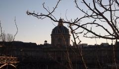 Palais de l'Institut (ancien collège des Quatre-Nations) - Institut de France sous un soleil d'hiver