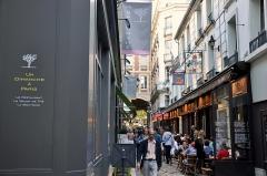 Passage de la Cour du Commerce Saint-André (voir aussi : Enceinte de Philipe-Auguste) -  Paris, France