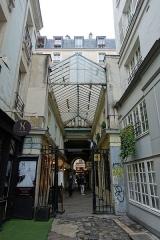 Passage de la Cour du Commerce Saint-André (voir aussi : Enceinte de Philipe-Auguste) -  Cours du Commerce Saint-André, 75006 Paris, France.