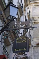 Passage de la Cour du Commerce Saint-André (voir aussi : Enceinte de Philipe-Auguste) -  Enseigne, cour du Commerce-Saint-André