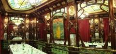 Ancien bouillon Chartier, actuellement restaurant Le Vagenende -  Brasserie Vagenende Salle a manger