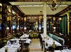 Ancien bouillon Chartier, actuellement restaurant Le Vagenende - Deutsch: Brasserie Le Vagenende, Paris, Region Île-de-France, Frankreich