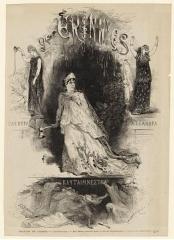 Théâtre de l'Odéon - Théâtre de l'Odéon: affiche de