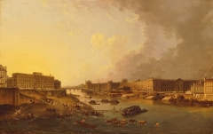 Hôtel des Monnaies (voir aussi : enceinte de Philippe-Auguste) - French painter