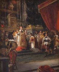 Immeuble et musée Delacroix - Huile sur toile, v. 1828?