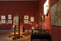 Immeuble et musée Delacroix - Intérieur de l'atelier d'Eugène Delacroix, 6 rue de Furstemberg, 75006 Paris.
