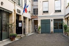 Immeuble et musée Delacroix -  59556-Paris