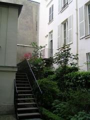 Immeuble et musée Delacroix -  Maison et atelier d'Eugnène Delacroix-Musée Eugnène Delacroix Photo personnelle (own work) de Marianna
