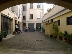 Immeuble et musée Delacroix - Français:   Entrée du musée Delacroix au n°6 de la rue de Furstemberg - Paris VI