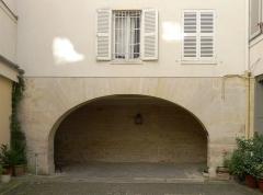 Immeuble et musée Delacroix - Français:   Entrée du musée Delacroix au n°6 de la rue de Furstemberg - Paris V