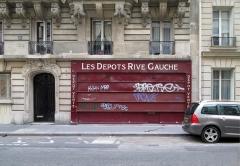 Boulangerie -  Les Dépôts Rive Gauche, 56 rue Vaneau, 75007 Paris, France.