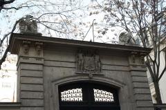 Hôtel de Beauharnais, actuellement résidence de l'ambassadeur d'Allemagne - Deutsch: Palais Beauharnais in Paris (7. Arrondissement), 78 rue de Lille