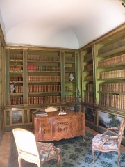 Hôtel de la Rochefoucauld-Doudeauville ou de Boisgelin - Français:   Bibliothèque Hôtel de la Rochefoucauld-Doudeauville