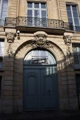 Hôtel de Montalivet - Deutsch: Hôtel de Montalivet in Paris (7. Arrondissement), 58 rue de Varenne
