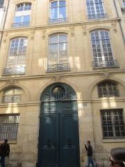 Hôtel de Sainte-Aldegonde - Français:   102 rue du Bac, Paris VIIe.
