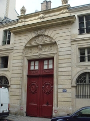 Hôtel - English: House_of_Chateaubriand_120_rue_du_Bac