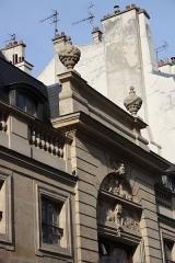 Hôtel - Deutsch: Hôtel particulier, 120 rue du Bac in Paris (7. Arrondissement)