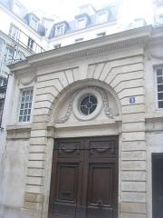 Hôtel  , dit hôtel d'Auterive ou de Saint-Simon - English: 3 rue de Beaune (Paris, VII)