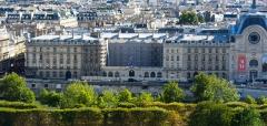 Immeuble de la Caisse des Dépôts et Consignations -  View from Grande roue des Tuileries, Paris.